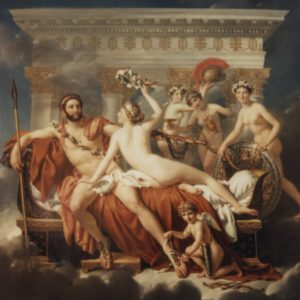 Mars et Venus oeuvre de Daniel Trammer