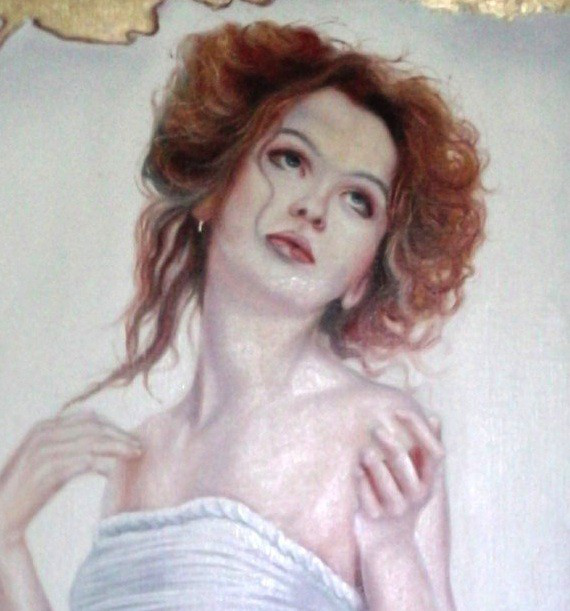 Portrait de Angie Daniel Trammer 60x90 Cm